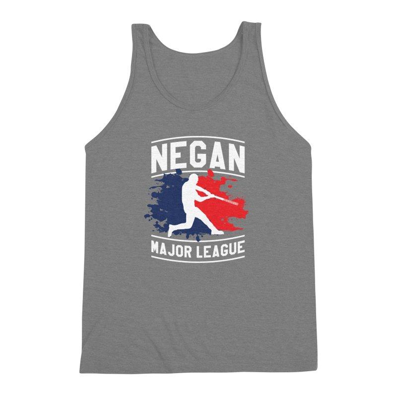 Negan-Major-League Men's Triblend Tank by japdua's Artist Shop