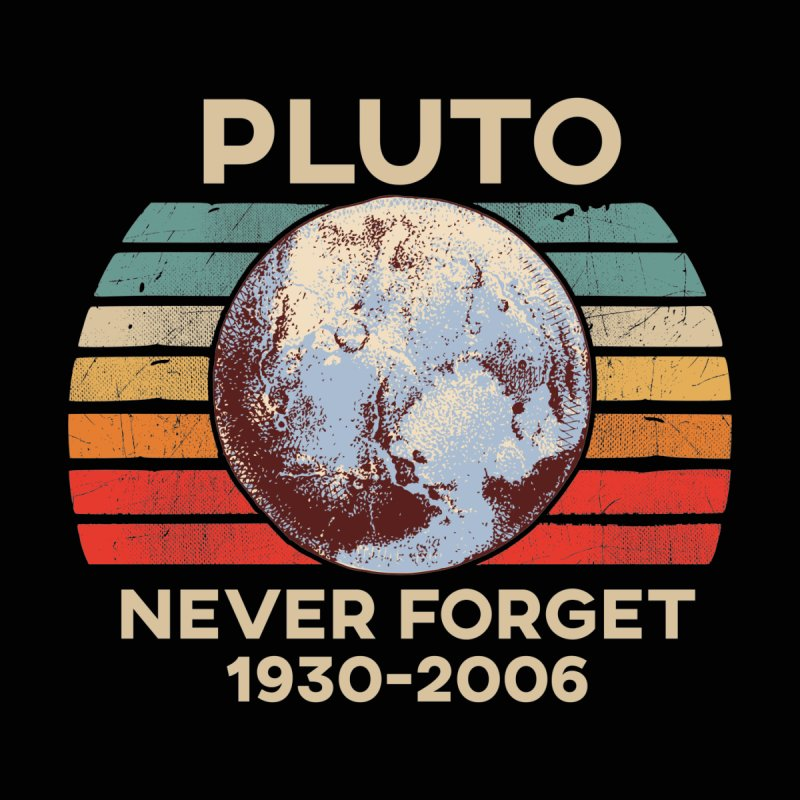 Pluto Never Forget Shirt 1930-2006 Kids Baby Zip-Up Hoody by The Tee Supply Co