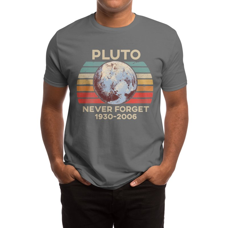 Pluto Never Forget Shirt 1930-2006 Men's T-Shirt by The Tee Supply Co