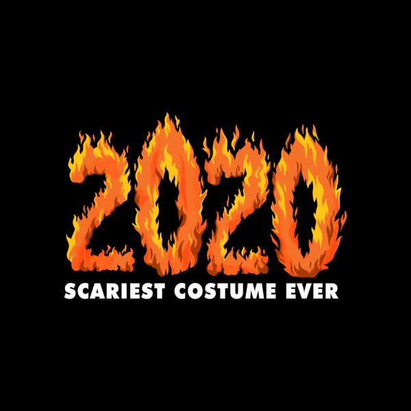 image for 2020 Scariest Costume Ever 2020 on Fire Flame