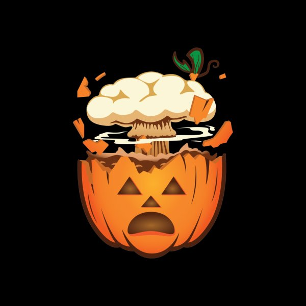 Design for Pumpkin Mind Blown Emoji Funny Halloween Jack-o-Lantern
