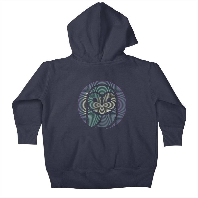 Truth and Honor Kids Baby Zip-Up Hoody by japdua's Artist Shop