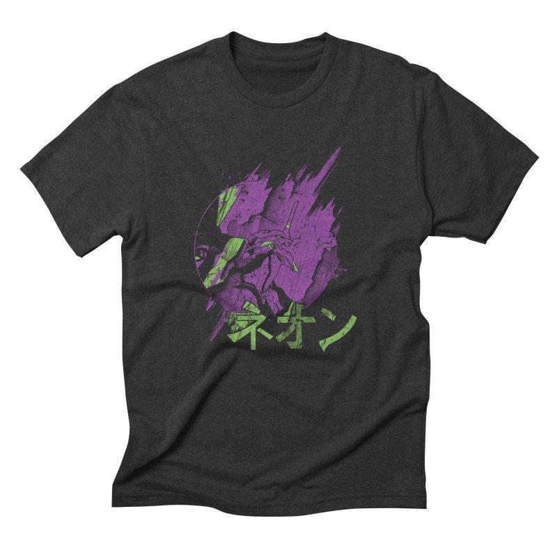 NEON Men's Triblend T-shirt by japdua's Artist Shop
