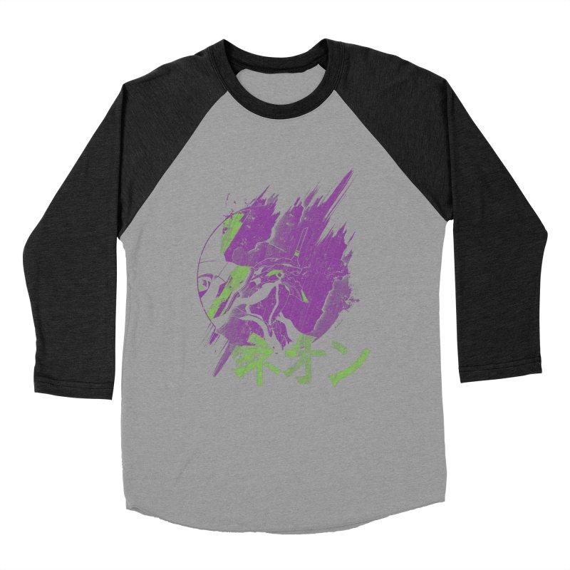 NEON Women's Baseball Triblend T-Shirt by japdua's Artist Shop