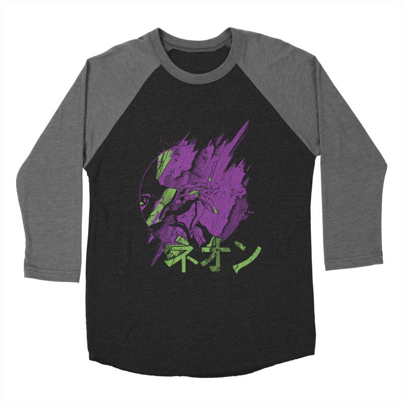 NEON Men's Baseball Triblend T-Shirt by japdua's Artist Shop