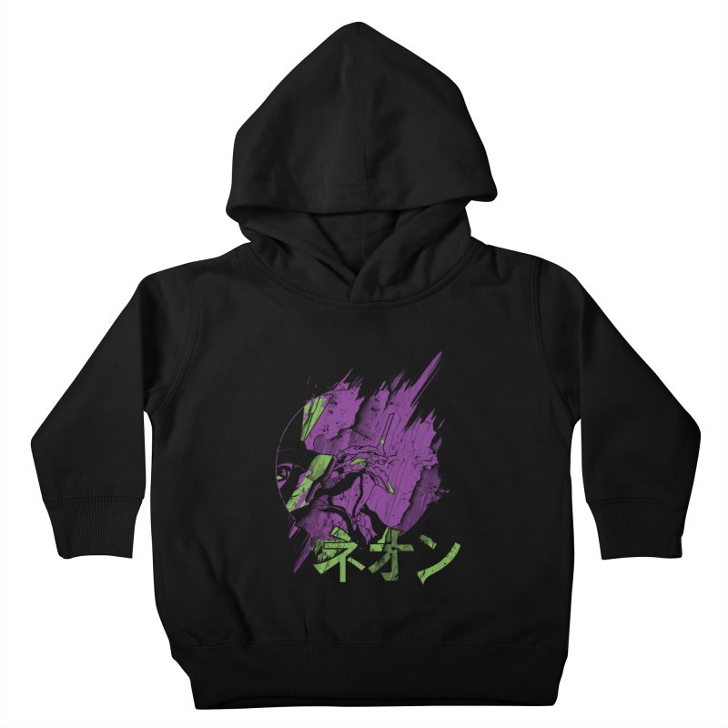 NEON Kids Toddler Pullover Hoody by japdua's Artist Shop