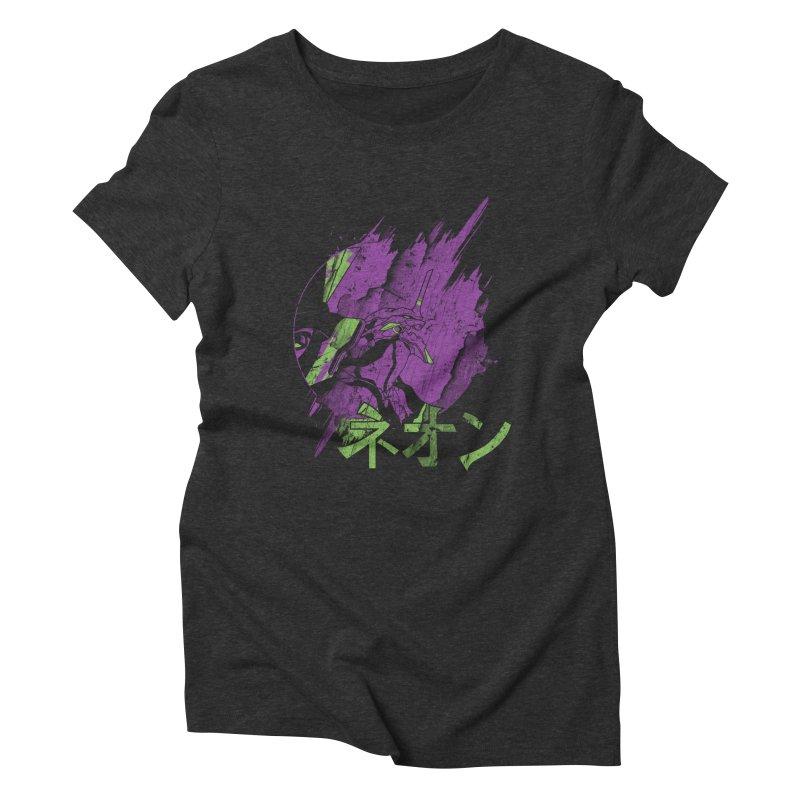 NEON Women's Triblend T-Shirt by japdua's Artist Shop