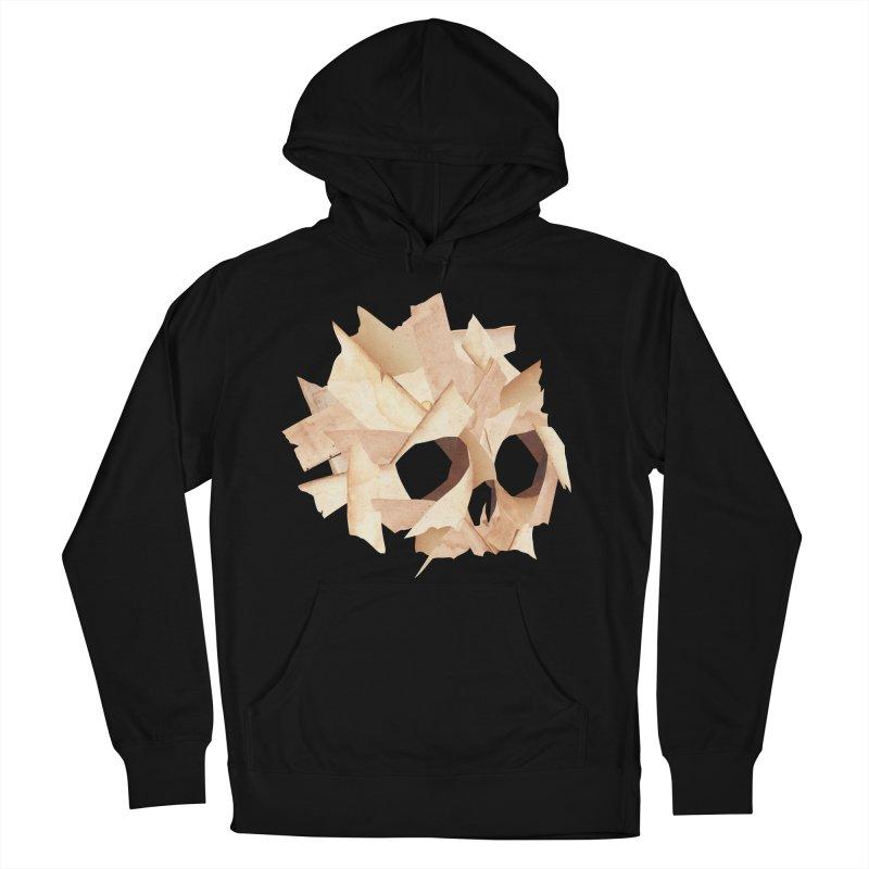 Paper Skull Men's Pullover Hoody by japdua's Artist Shop