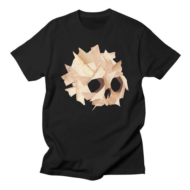 Paper Skull Men's T-Shirt by japdua's Artist Shop