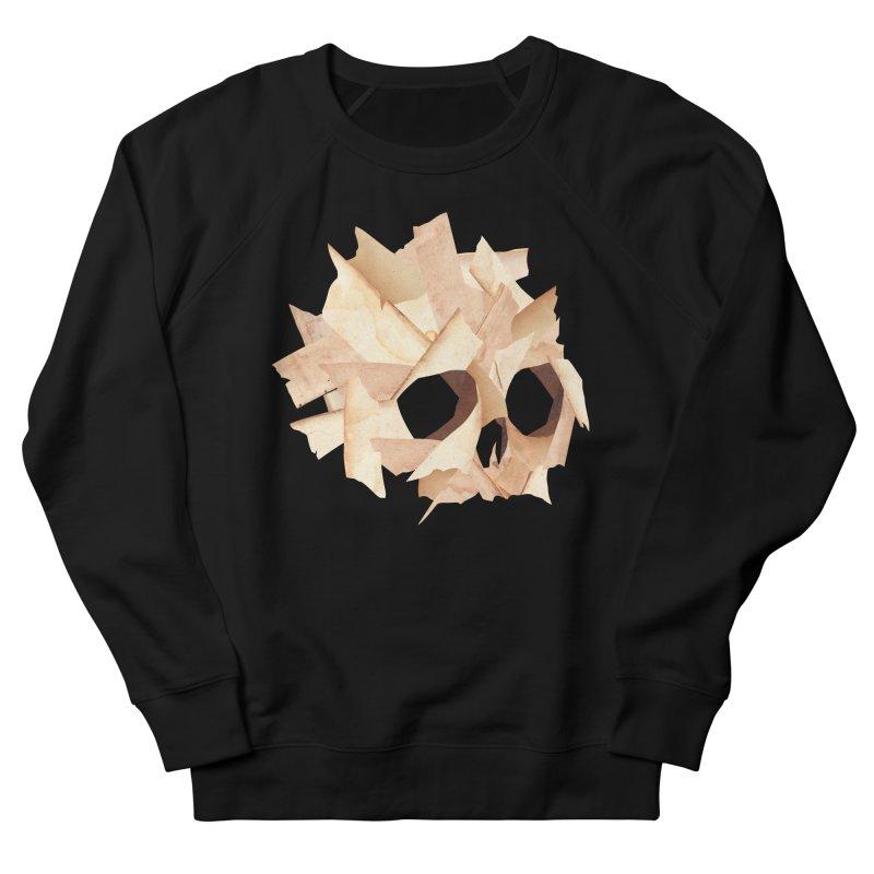 Paper Skull Men's Sweatshirt by japdua's Artist Shop