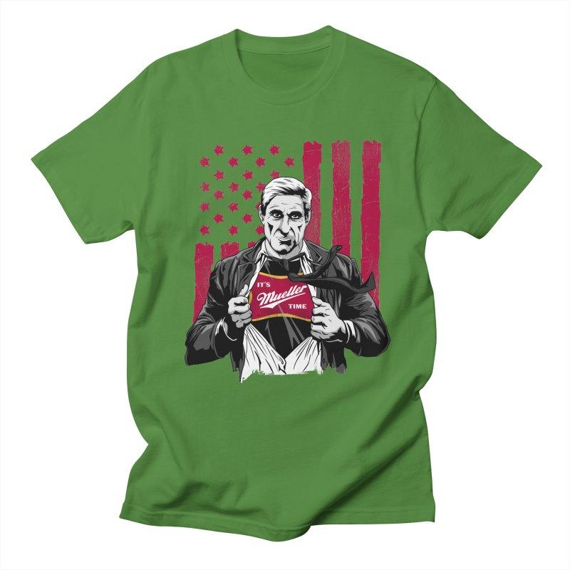 It's Super Mueller Time Men's T-Shirt by japdua's Artist Shop
