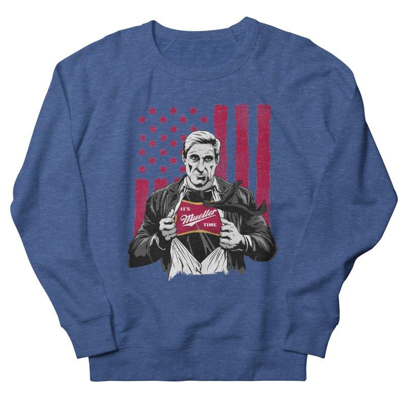 It's Super Mueller Time Men's Sweatshirt by japdua's Artist Shop