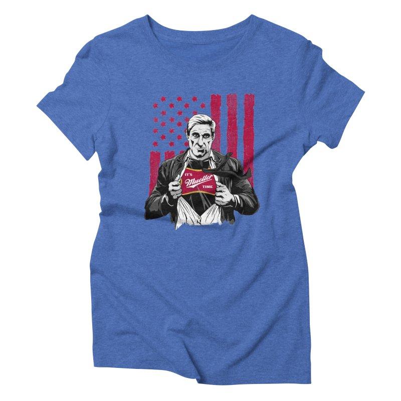It's Super Mueller Time Women's Triblend T-Shirt by japdua's Artist Shop