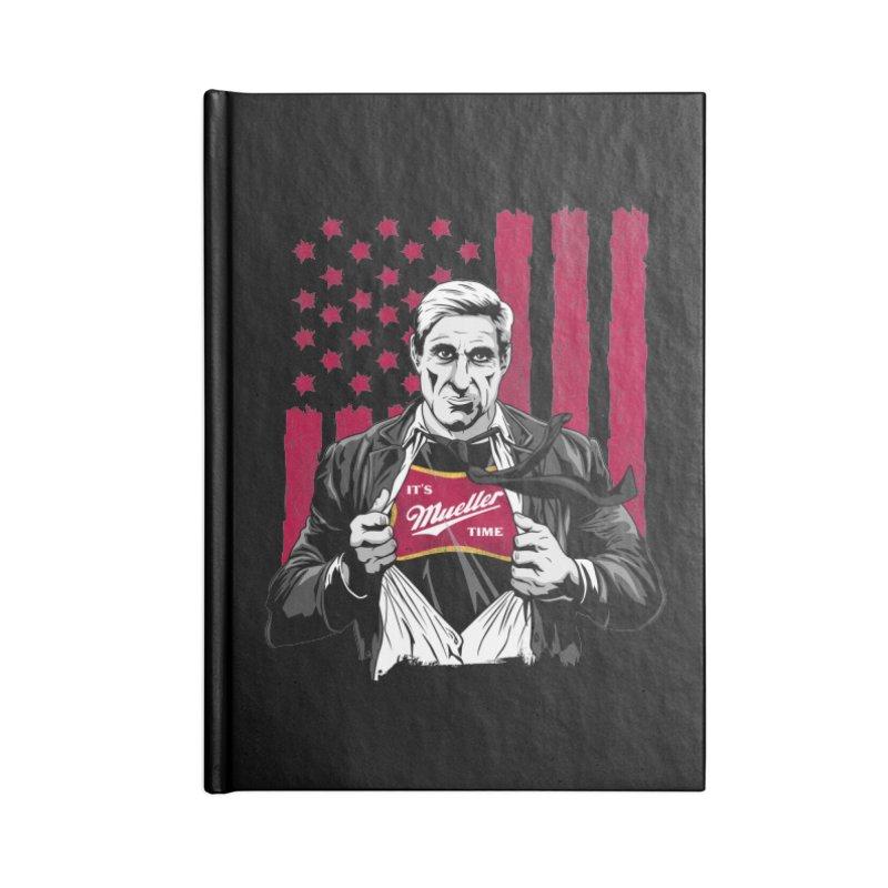 It's Super Mueller Time Accessories Notebook by japdua's Artist Shop