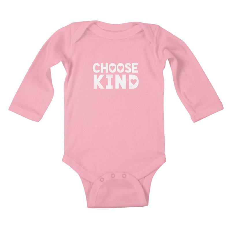 Choose Kind Kids Baby Longsleeve Bodysuit by japdua's Artist Shop