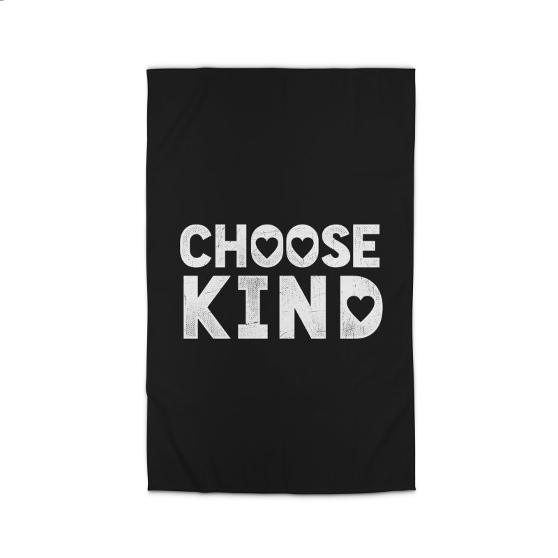 Choose Kind Home Rug by japdua's Artist Shop