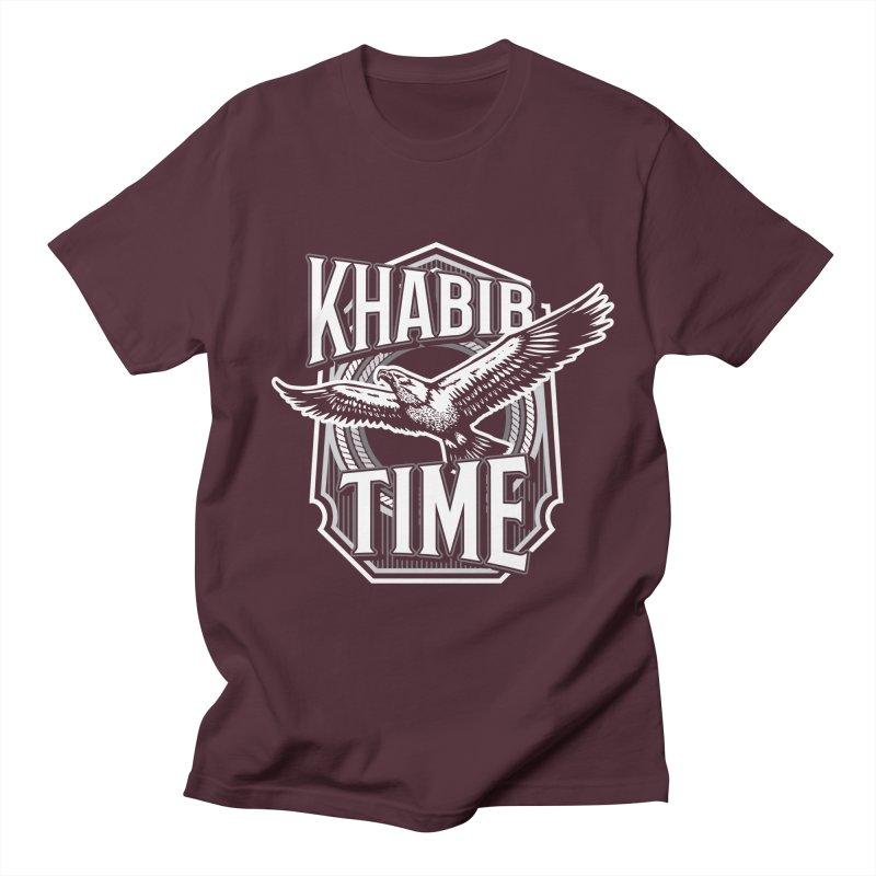Khabib Time Men's T-Shirt by japdua's Artist Shop