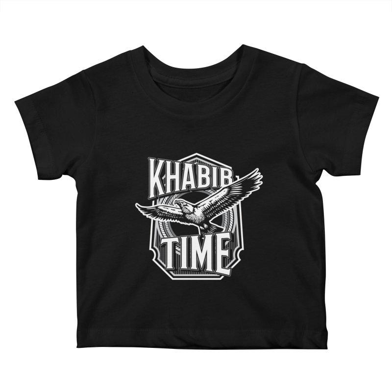 Khabib Time Kids Baby T-Shirt by japdua's Artist Shop