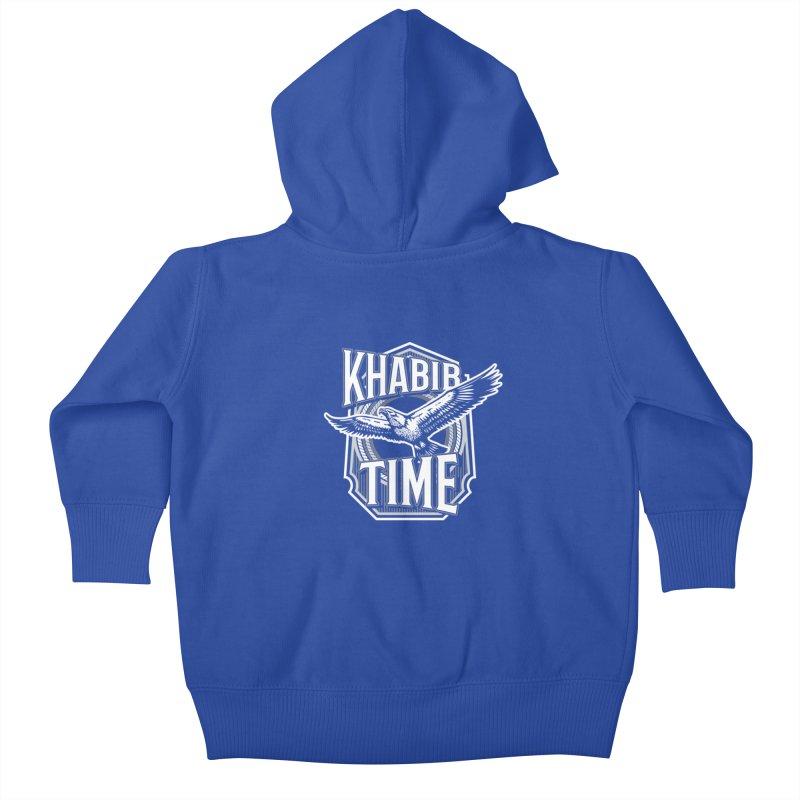 Khabib Time Kids Baby Zip-Up Hoody by japdua's Artist Shop