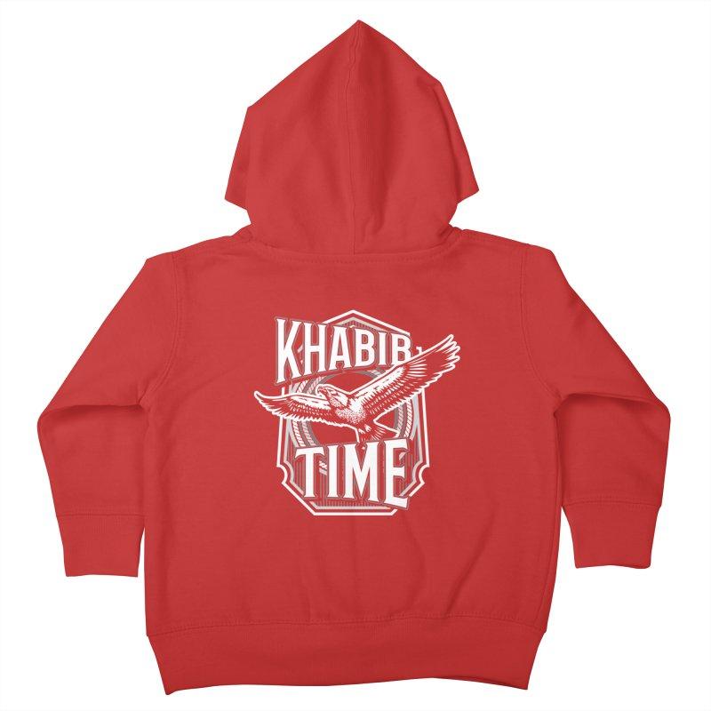 Khabib Time Kids Toddler Zip-Up Hoody by japdua's Artist Shop