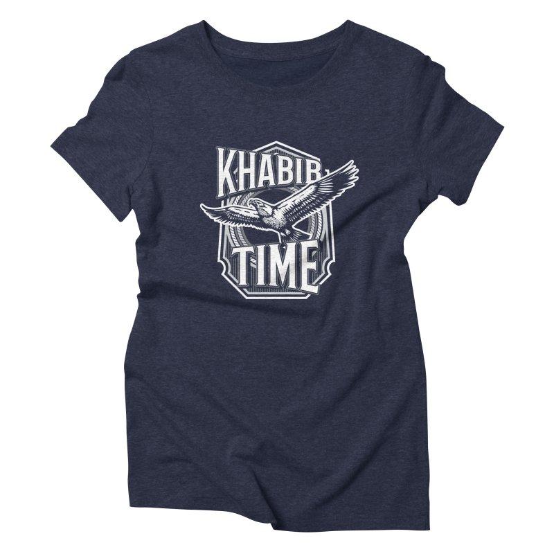Khabib Time Women's Triblend T-Shirt by japdua's Artist Shop