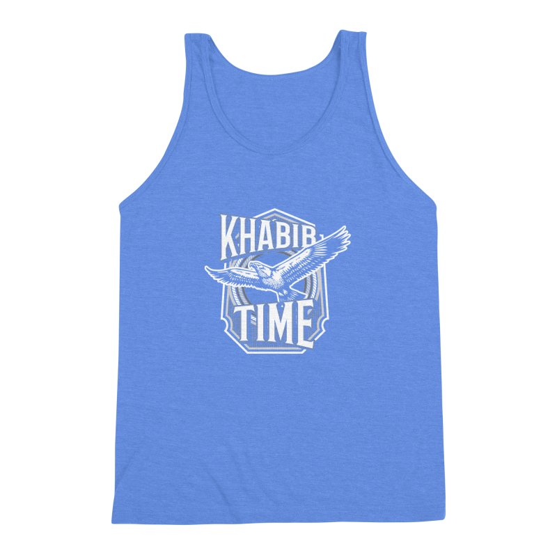 Khabib Time Men's Triblend Tank by japdua's Artist Shop