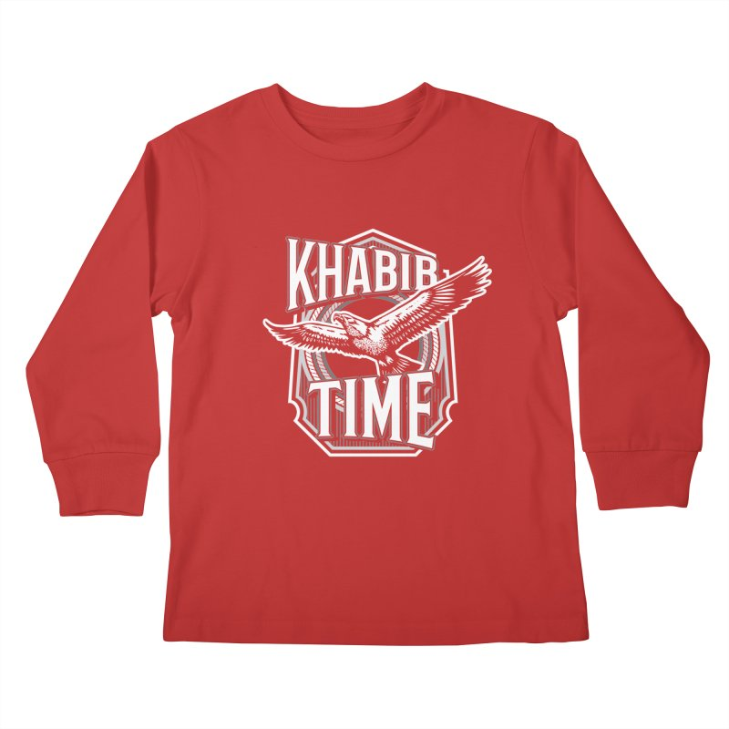 Khabib Time Kids Longsleeve T-Shirt by japdua's Artist Shop