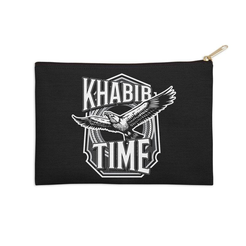 Khabib Time Accessories Zip Pouch by japdua's Artist Shop