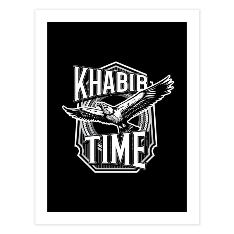 Khabib Time Home Fine Art Print by japdua's Artist Shop
