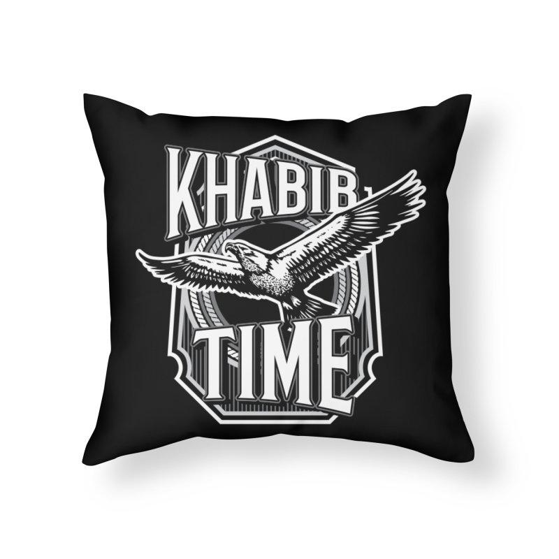 Khabib Time Home Throw Pillow by japdua's Artist Shop