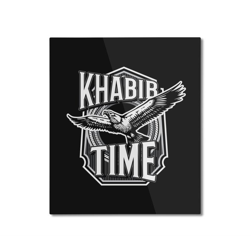 Khabib Time Home Mounted Aluminum Print by japdua's Artist Shop