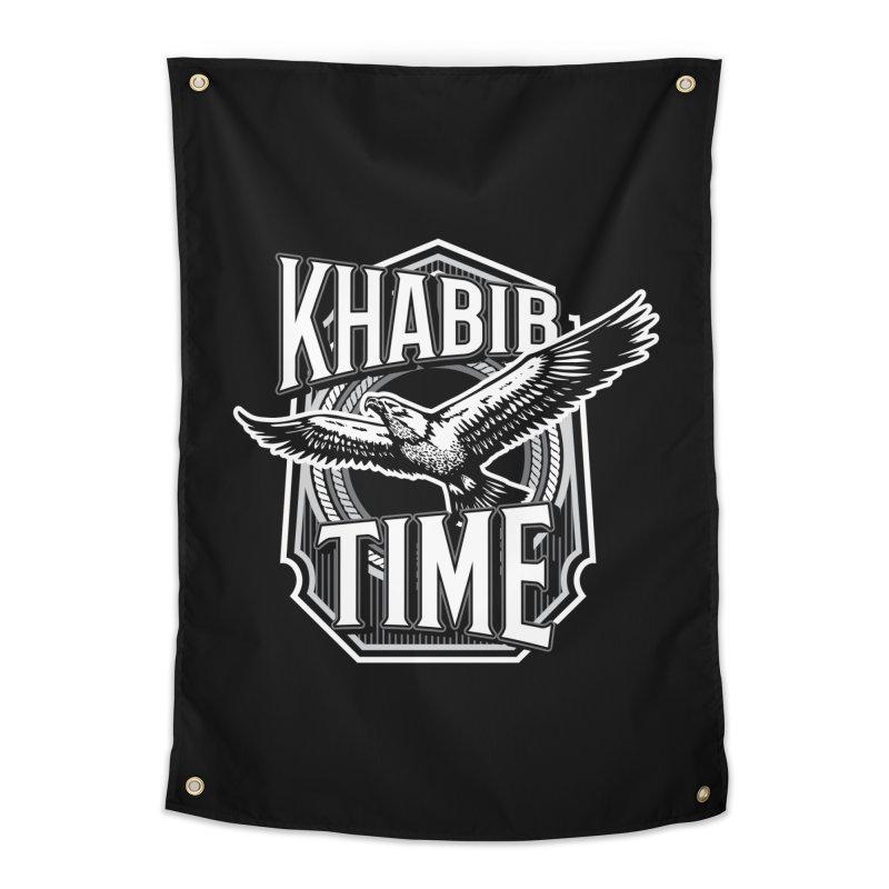 Khabib Time Home Tapestry by japdua's Artist Shop