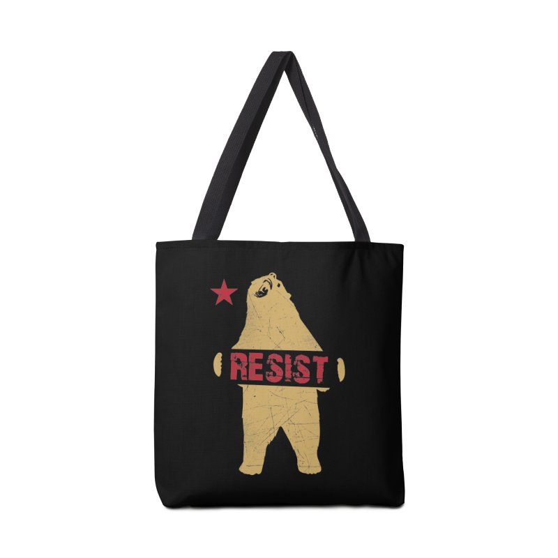 Cali Resist Bear Accessories Bag by japdua's Artist Shop