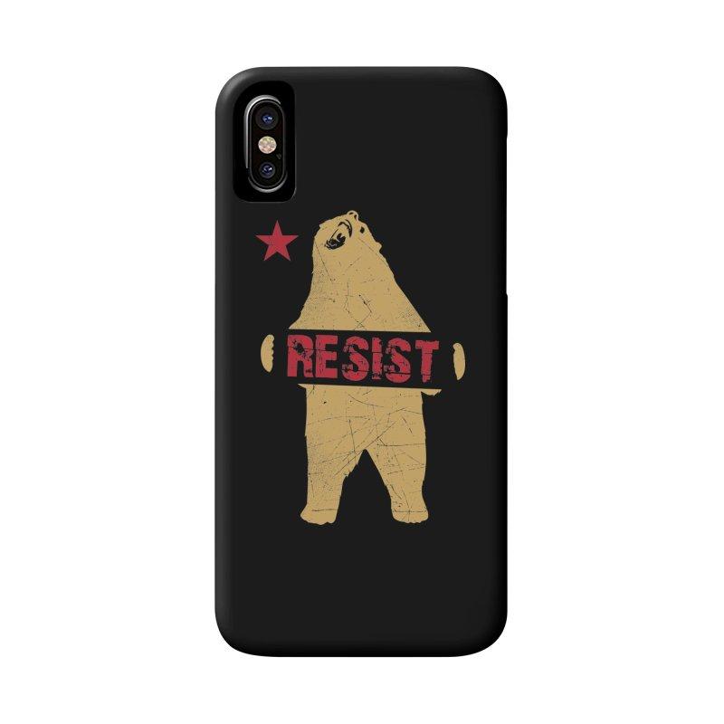 Cali Resist Bear Accessories Phone Case by japdua's Artist Shop