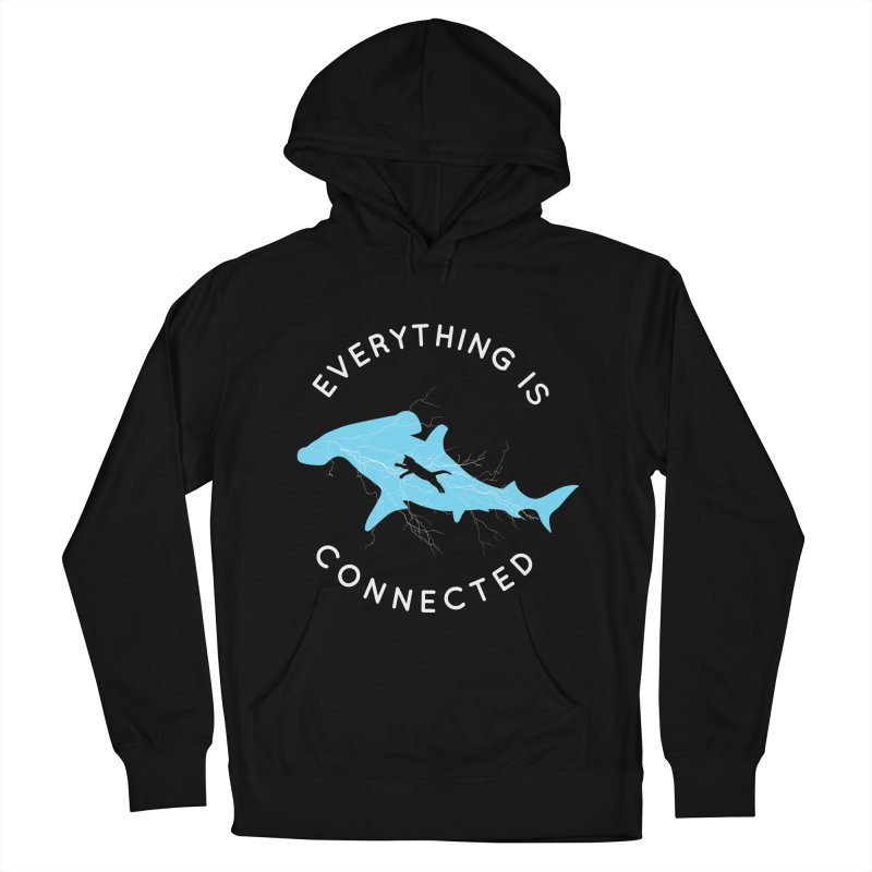 Everything is Connected Cat Shark Women's Pullover Hoody by japdua's Artist Shop