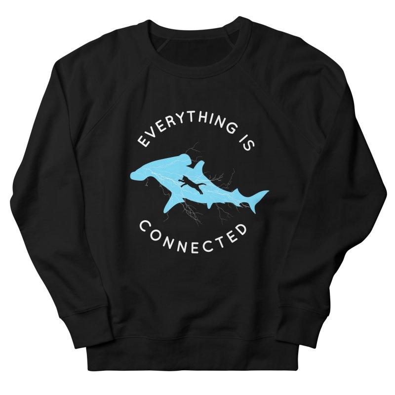 Everything is Connected Cat Shark Women's Sweatshirt by japdua's Artist Shop