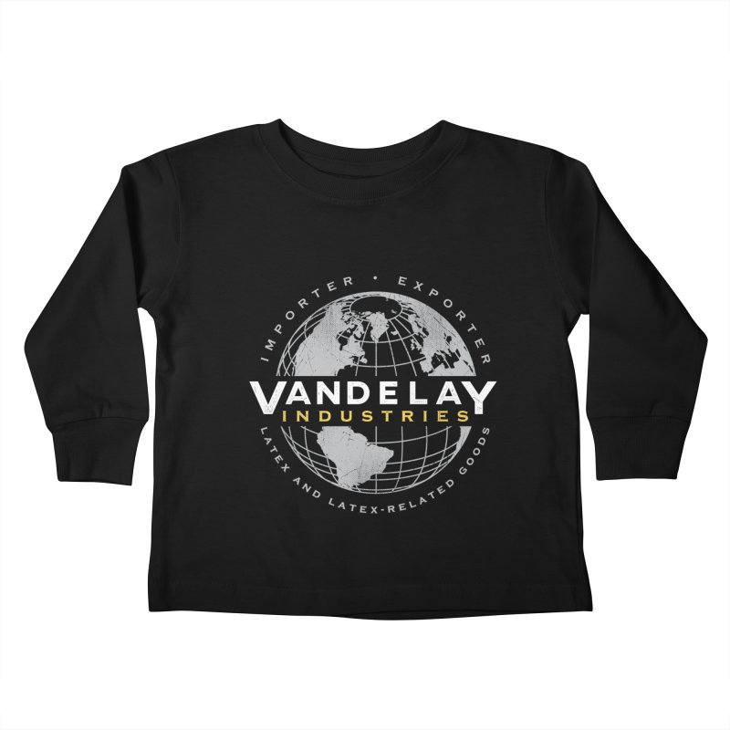 Vandelay Industries Kids Toddler Longsleeve T-Shirt by japdua's Artist Shop