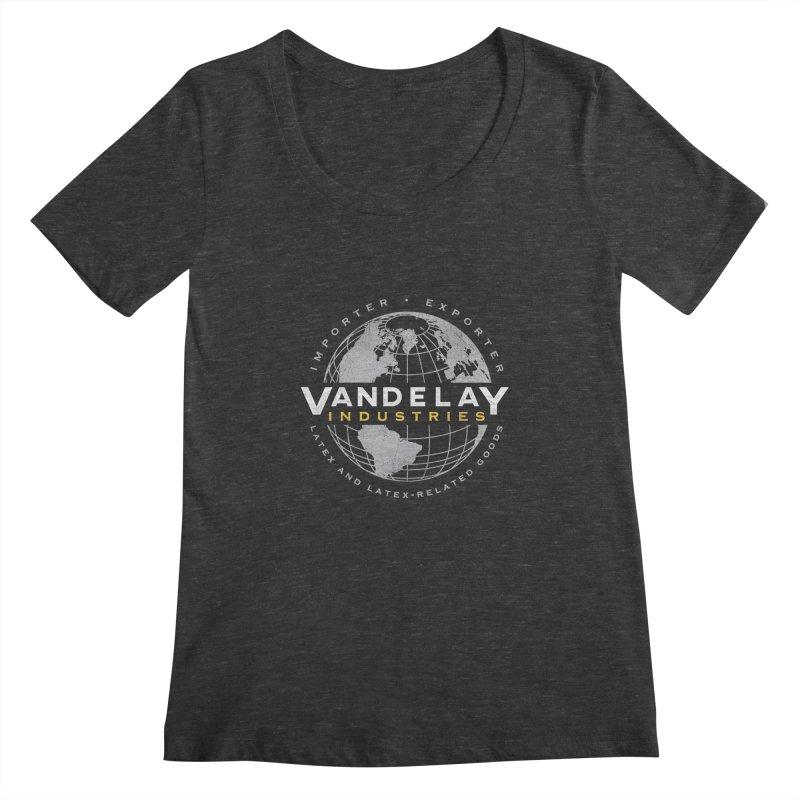 Vandelay Industries Women's Scoopneck by japdua's Artist Shop