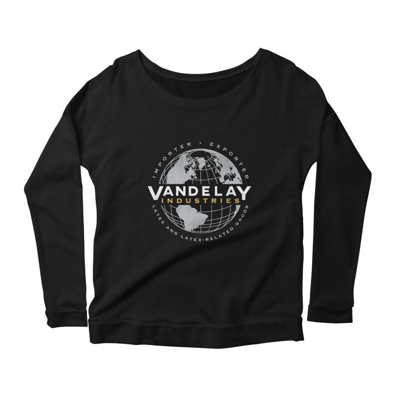 Vandelay Industries Women's Longsleeve Scoopneck  by japdua's Artist Shop