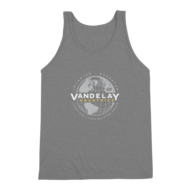 Vandelay Industries Men's Triblend Tank by japdua's Artist Shop