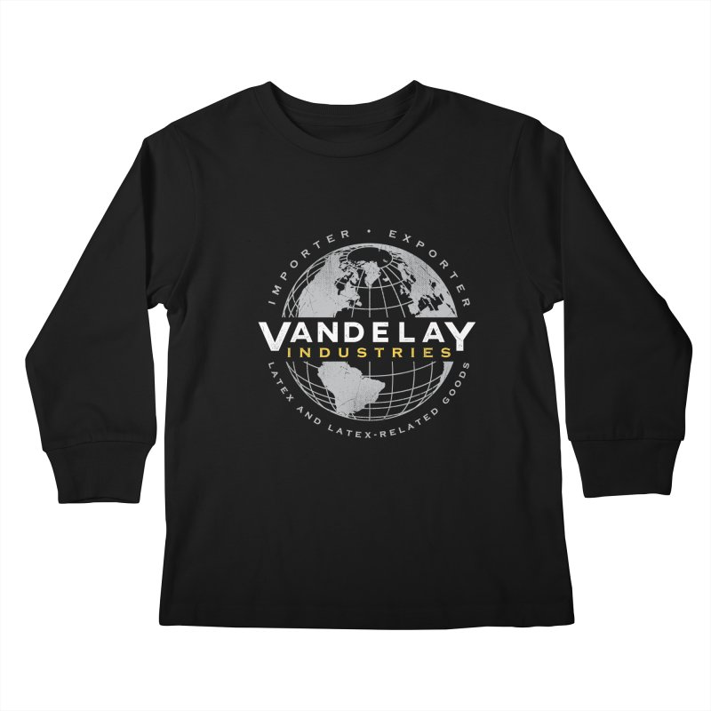 Vandelay Industries Kids Longsleeve T-Shirt by japdua's Artist Shop