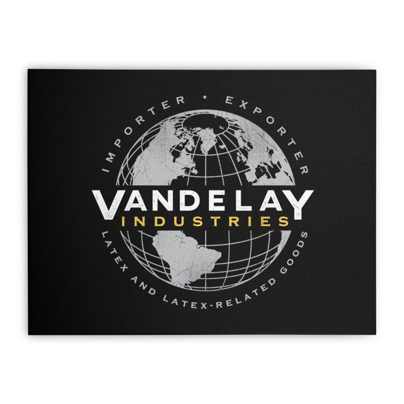 Vandelay Industries Home Stretched Canvas by japdua's Artist Shop