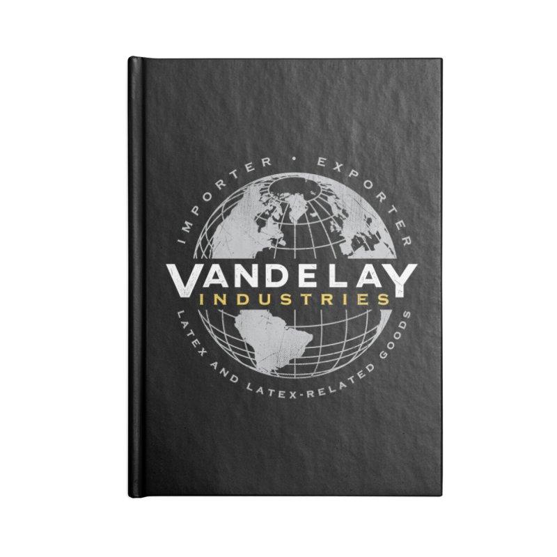 Vandelay Industries Accessories Notebook by japdua's Artist Shop