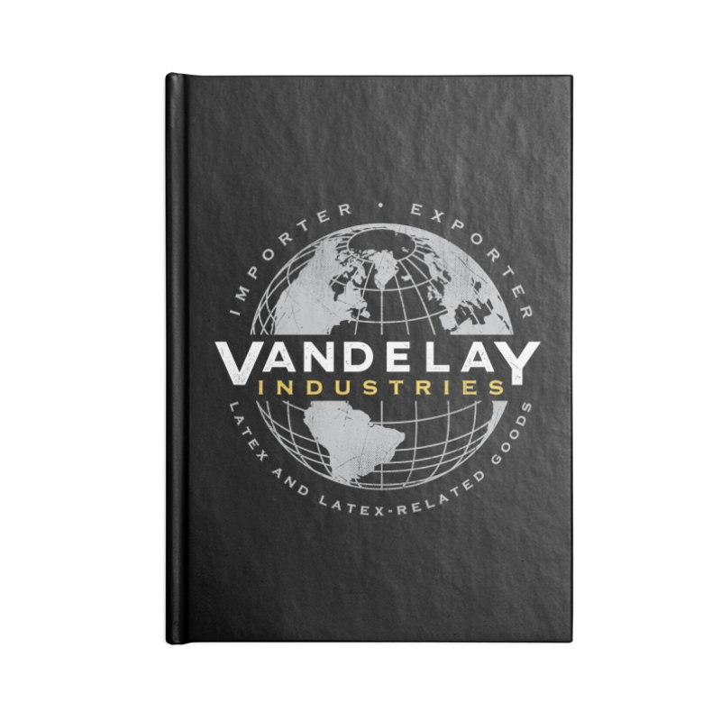 Vandelay Industries Accessories Blank Journal Notebook by japdua's Artist Shop
