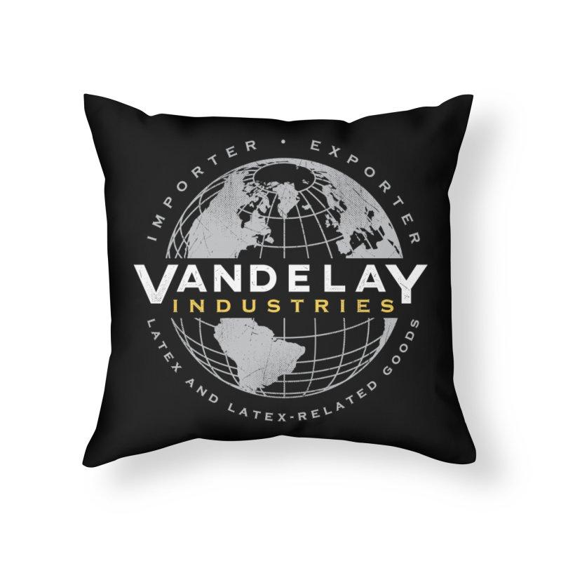Vandelay Industries Home Throw Pillow by japdua's Artist Shop