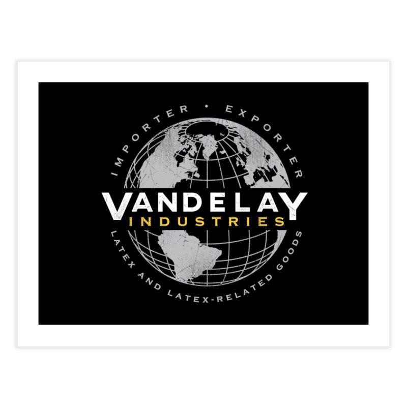 Vandelay Industries Home Fine Art Print by japdua's Artist Shop