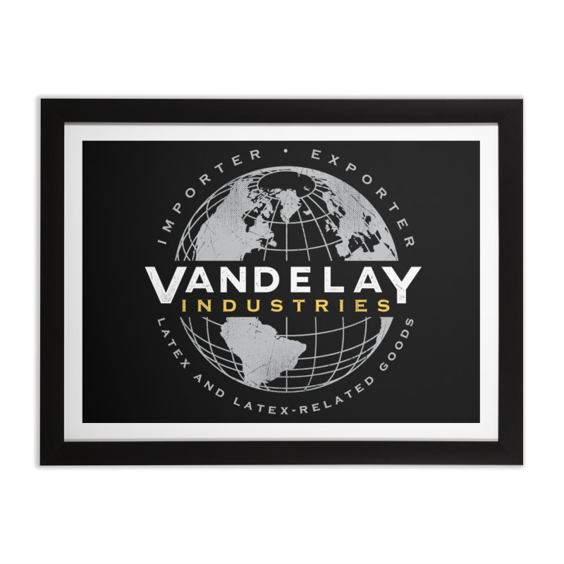 Vandelay Industries Home Framed Fine Art Print by japdua's Artist Shop