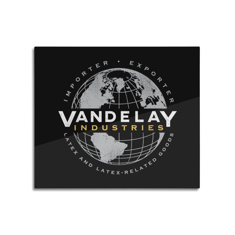 Vandelay Industries Home Mounted Aluminum Print by japdua's Artist Shop