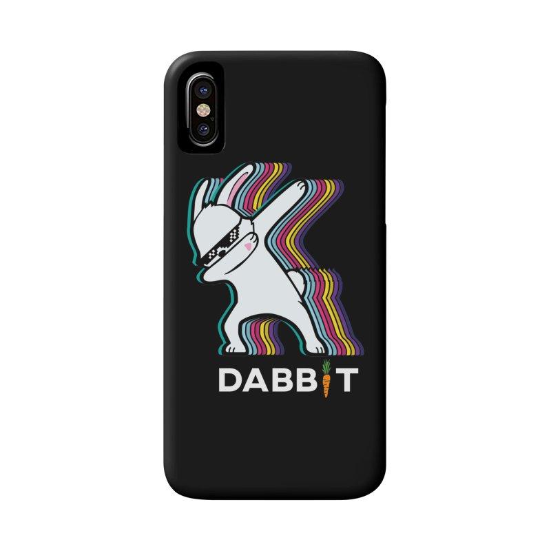 Dabbit The Dabbing Bunny Rabbit Accessories Phone Case by japdua's Artist Shop