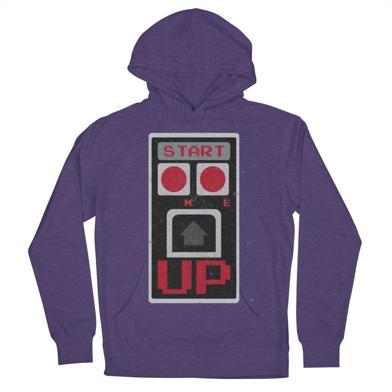 START ME Men's Pullover Hoody by Japiboy's Artist Shop